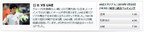 アジアカップ2015日本対UAEオッズ.jpg