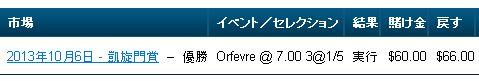 凱旋門賞2013払い戻し.jpg